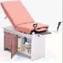 Full Cabinet Exam Table with 2 Doors and Adjustable Shelves