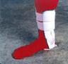 Lycra-Gel Ankle Brace